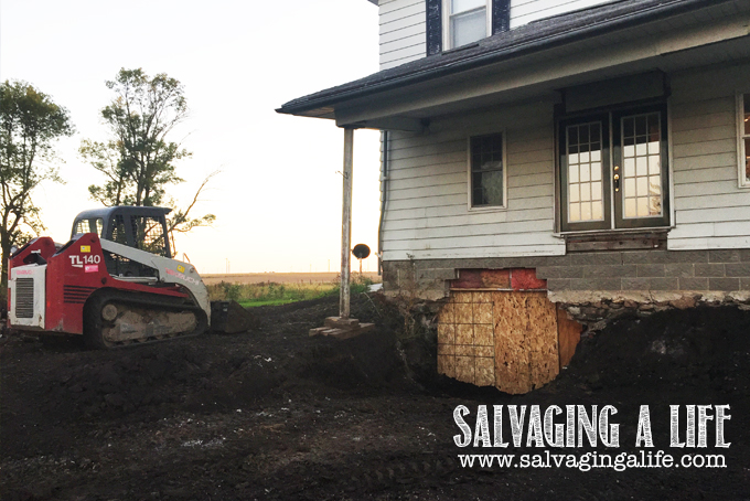 Salvaging A Life - Salvaging The House: The Project Begins