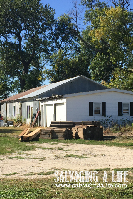 Salvaging A Life - Salvaging The House: The Project Begins Again!