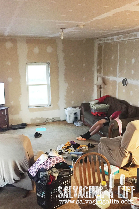 Salvaging A Life - Salvaging The House