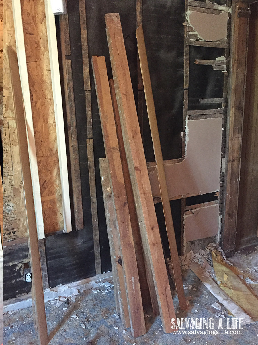 Salvaging A Life - Laundry Room
