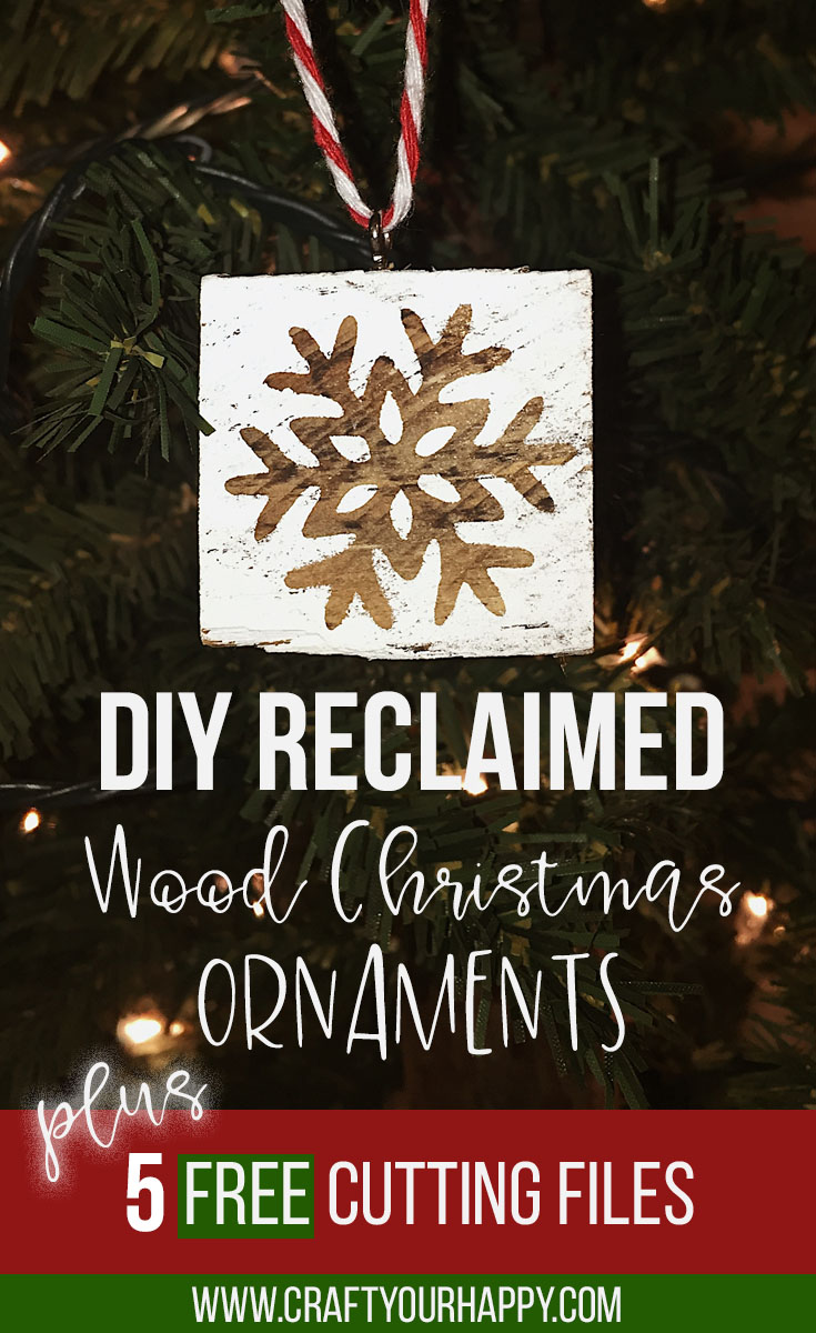 Diy Reclaimed Wood Christmas Ornaments