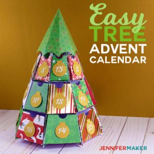 Easy Tree Advent Calendar At JenniferMaker