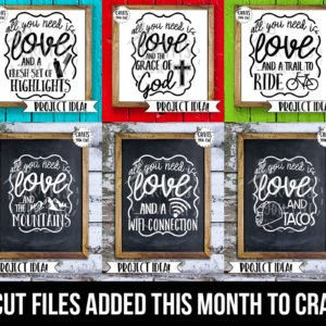 Crafts You Cut Has A New Home And A Bunch Of New SVG Cut Files!