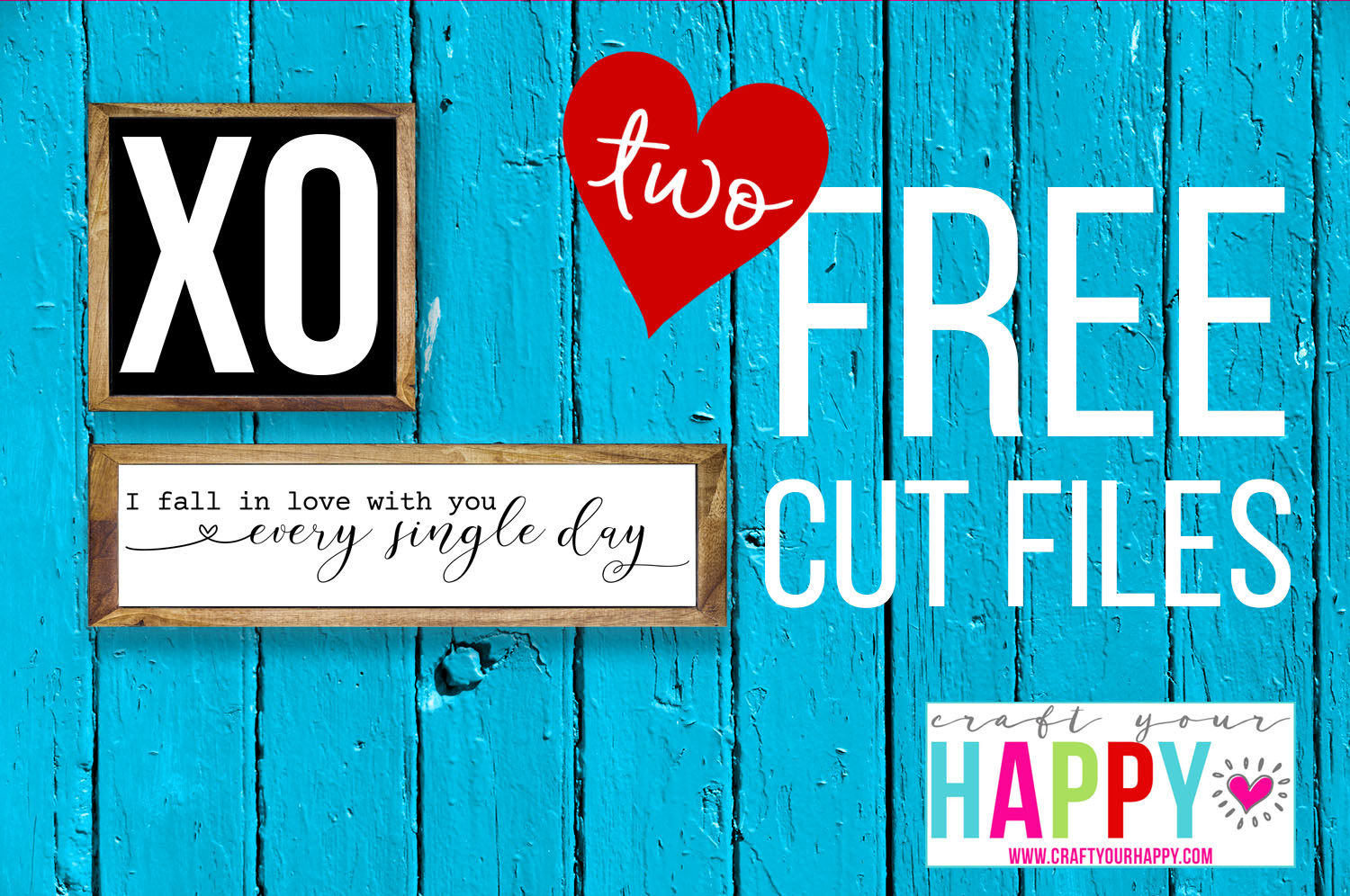 Two Free Valentine Cut Files