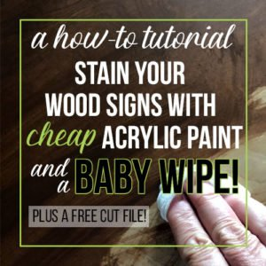 Can You Really Stain Wood With A Baby Wipe?