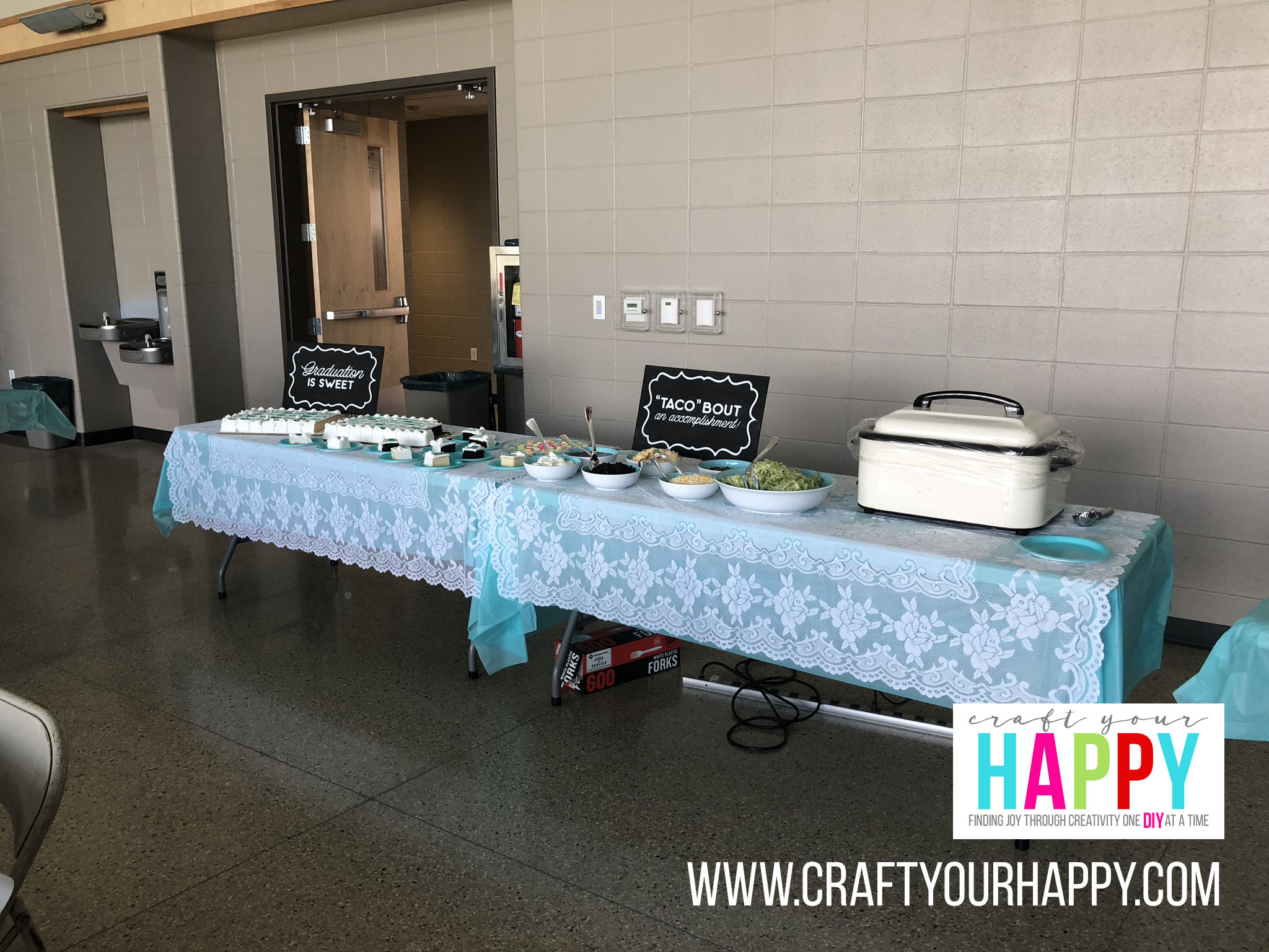 Craft Your Happy - Grad Party On A Budget - Walking Taco Bar