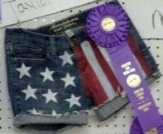 Craft Your Happy - How To Make Patriotic Denim Shorts