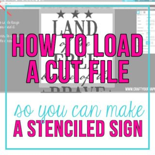 Craft Your Happy - How To Load A Cut file