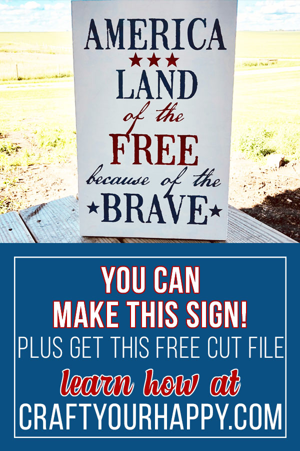 Craft Your Happy - How To Stencil A Sign