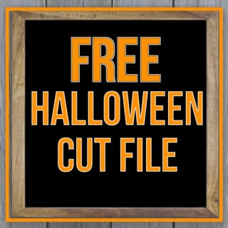 Free Halloween Cut File From Craft Your Happy