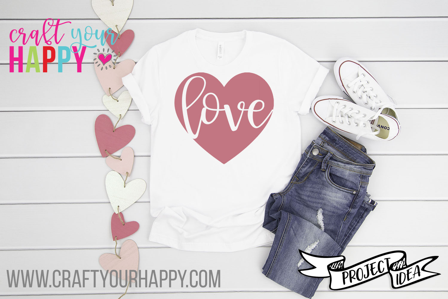 Craft Your Happy Love In Heart Free Valentine SVG Cut File
